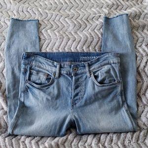 Mens H&M Skinny Cut Off Jeans(Crops)